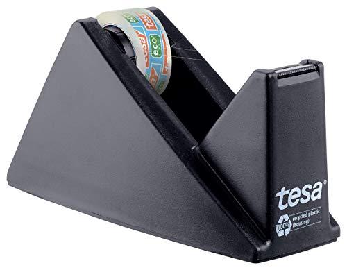 tesa Easy Cut Economy Klebebandabroller mit ecoLogo für Tische /...