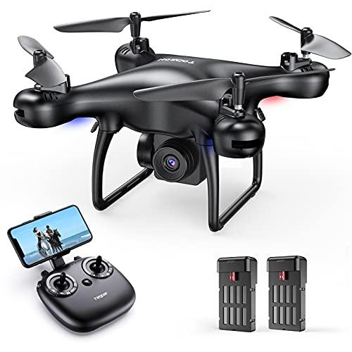 Tomzon Mini Drohne mit Kamera 1080P HD für Anfänger, FPV 2.4Ghz WiFi...