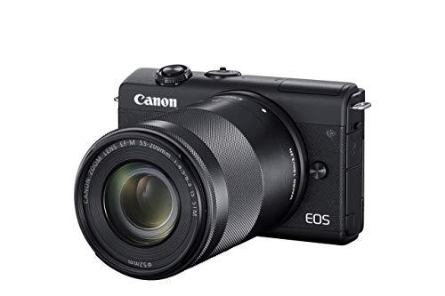 Canon EOS M200 Systemkamera Gehäuse - mit Objektiven EF-M 15-45mm...