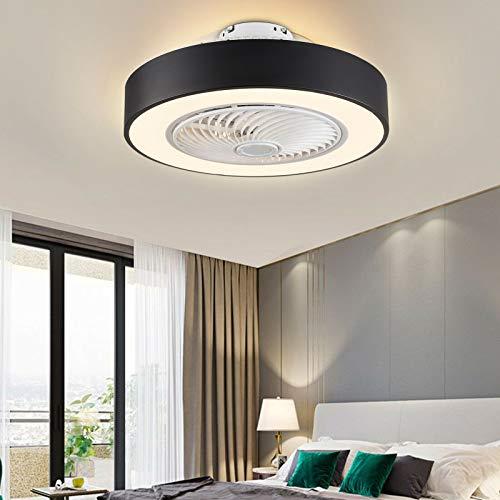 22' Schwarz Deckenventilatoren mit Beleuchtung LED Deckenleuchte...