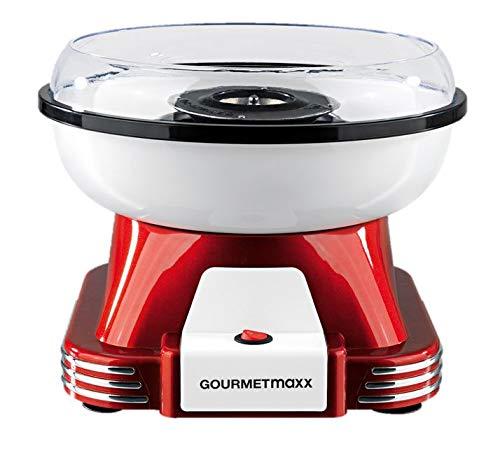 GOURMETmaxx Zuckerwattemaschine für Zuhause | Mit Zubehör für...