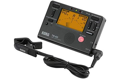 KORG TM-60 Combo aus Stimmgerät und Metronom, mit Kontakt-Mikrofon,...