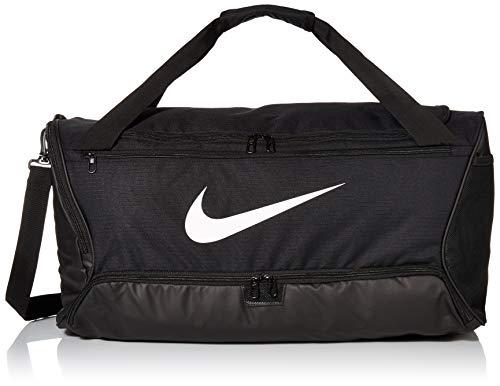 Nike Brasilia (Medium) Trainingstasche, Black/Black/White, 64 x 30 x...