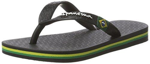 Ipanema Unisex-Kinder Classic Brasil II Kids Zehentrenner, 8041 black,...