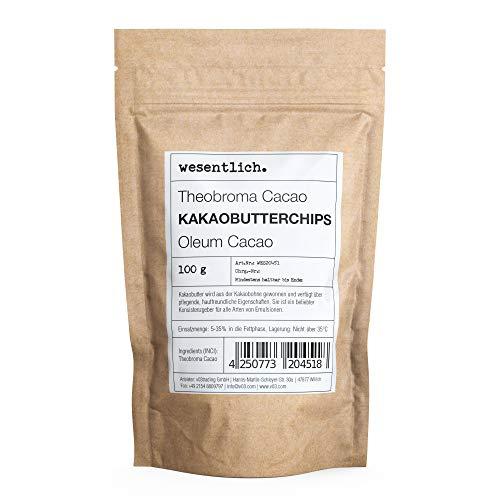 Kakaobutterchips (100g) von wesentlich.
