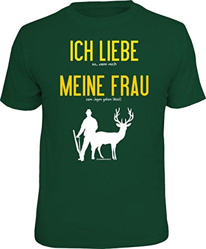 RAHMENLOS Original T-Shirt für den Jäger: Ich Liebe es, wenn Mich...