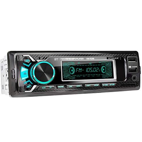 XOMAX XM-R266 Autoradio mit Bluetooth Freisprecheinrichtung I...