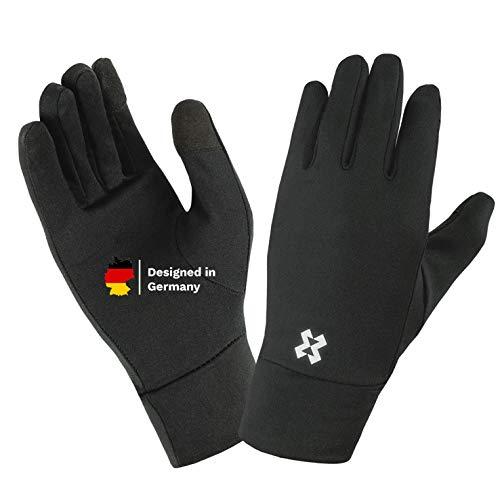 HYXE dünne und leichte Unterzieh Handschuhe Damen und Herren mit...