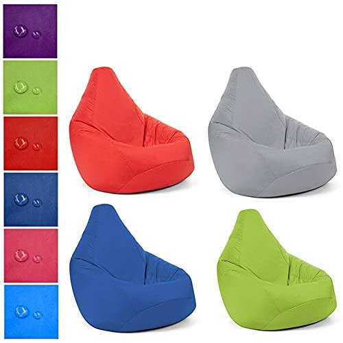 ZSooner Sitzsack-Sofa, 75 x 85 cm, Zubehör, glänzend, für Kinder,...
