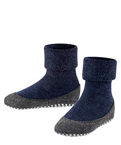 FALKE Cosyshoe, Indoor-Socken für Kinder, Merinowolle, Blau...