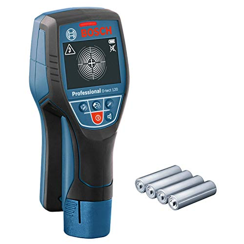 Bosch Professional Ortungsgerät D-tect 120 (4 x AA Batterien, max....