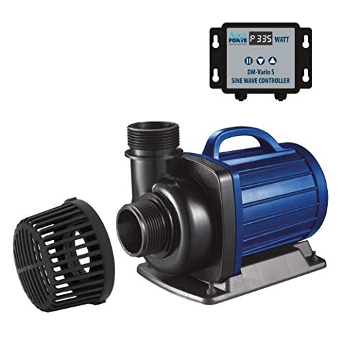 AquaForte Filter-/Teichpumpe DM-30.000 Vario S, 115-335W, Förderhöhe...
