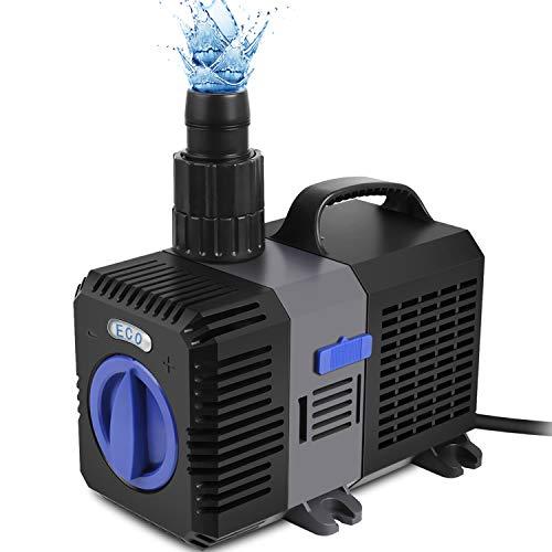 Forever Speed Super ECO Teichpumpe Filterpumpe Energiespar Wasserpumpe...