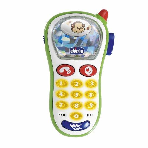 Chicco Baby Foto Handy, Spielzeughandy mit Lichtern und Geräuschen,...