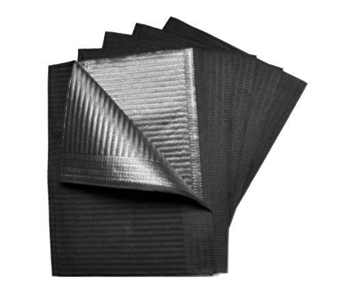 Arbeitsplatz Unterlagen'Inkjection' Schwarz 50 Stück 2-lagig 33 x 45...