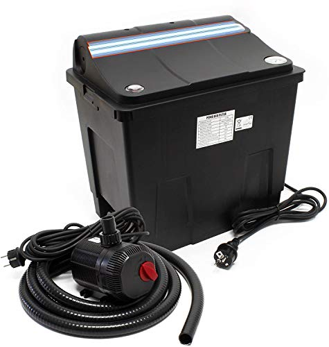 SunSun Bio Teichfilter CBF-200T Filteranlage komplett mit 9 W UVC und...