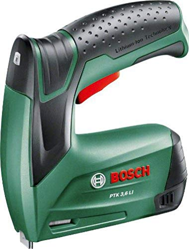 Bosch Akku Tacker PTK 3,6 LI (Integrierter Akku, 3,6 Volt, in...