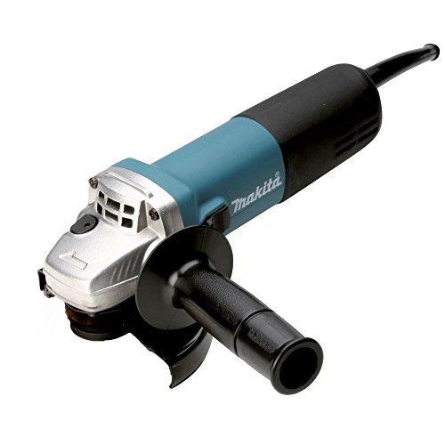 Makita 9558NBRZ Winkelschleifer 125 mm, 840 W, Schwarz/Blau, Size