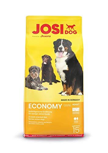 JosiDog Economy (1 x 15 kg) | Hundefutter für ausgewachsene Hunde |...