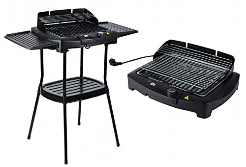 Elektrischer BBQ Grill Standgrill Elektrogrill 2000W Barbecue...