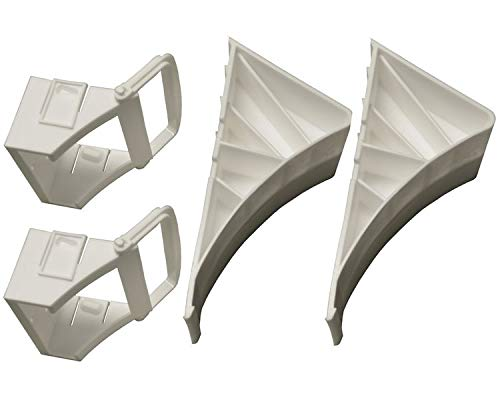 2 Stück - Unterlegkeil für Autoanhänger - Zubehör - mit...