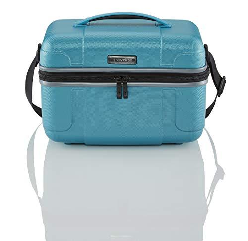travelite Handgepäck Kosmetikkoffer mit Aufsteckfunktion, Gepäck...