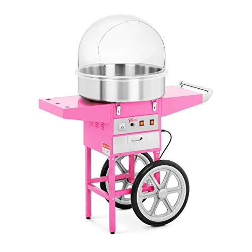 Royal Catering RCZC-1200E Zuckerwattemaschine Cotton Candy Machine mit...