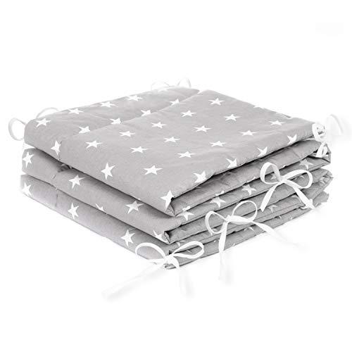 Amilian® Bettumrandung Nest Kopfschutz Nestchen 420x30cm, 360x30cm,...