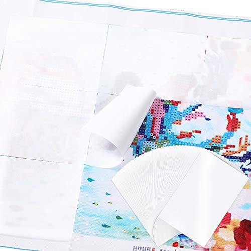 Boao 150 Blätter Diamant Malpapier 3,9 x 5,9 Zoll Diamant Malpapier...