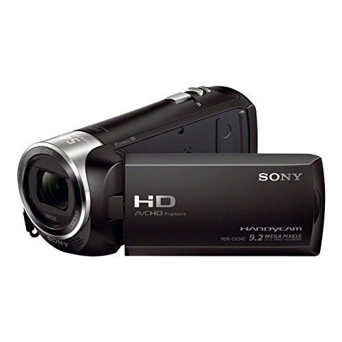 Sony HDR-CX240E HD Flash Camcorder (Full HD, EXMOR R CMOS Sensor, 9,2...
