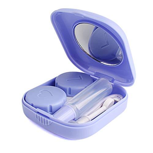 Keyzone Kontaktlinsenbehälter Kunststoffbehälter mit Pinzette und...