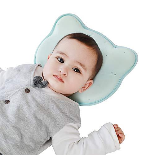 Babykissen mit Kissenbezug Kinderkissen Waschbar und Atmungsaktiv...