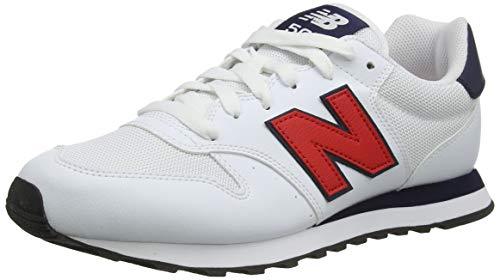 New Balance Herren 500 Varsity Pack Sneaker, Weiß (White), 45.5 EU