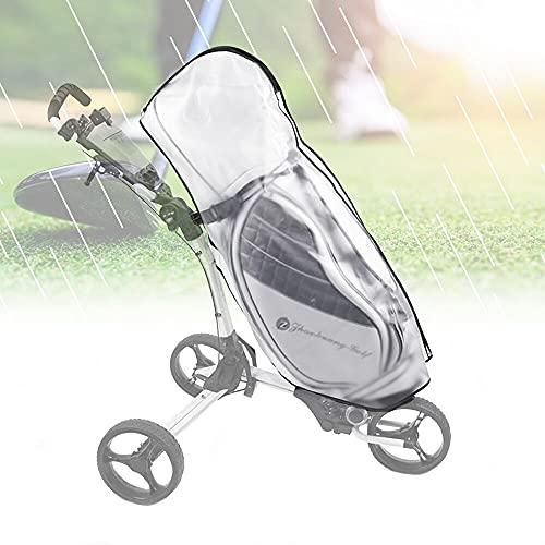 KBNIAN Golf Bag Regenschutz Transparent Golftasche Abdeckung...