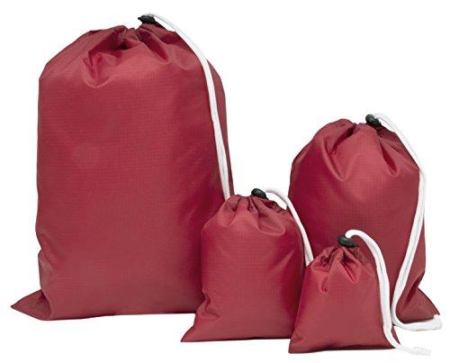 ZOLLNER 4er Set Packbeutel für Koffer, Rucksäcke, Reisetaschen UVM,...