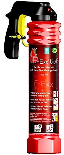 F-Exx 8.0 F - Der Feuerlöscher für Küche und Zuhause (Made in...