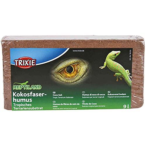 Trixie 76153 Kokosfaserhumus, Substrat, gepresst, ergibt 9 l