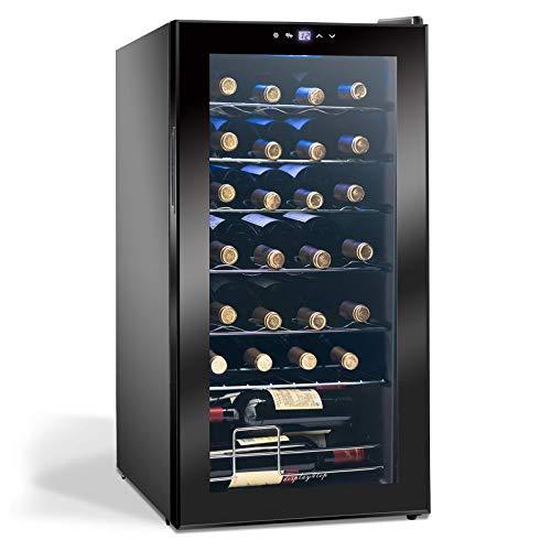 Display4top Vino Weinkühlschrank Kompressionskühler...
