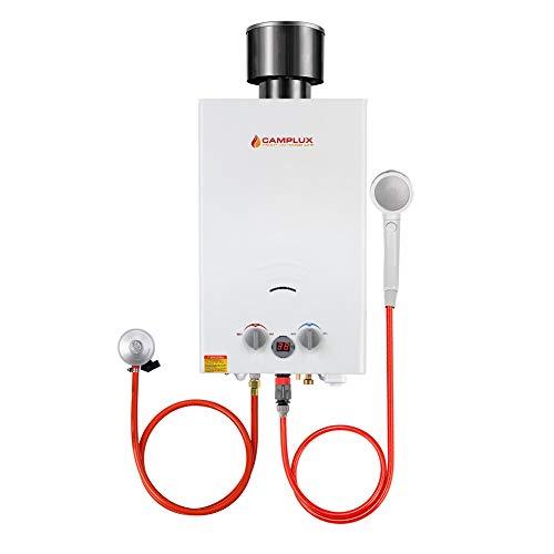 Camplux BW264C CE-zertifiziert Tankless Gasdurchlauferhitzer mit...