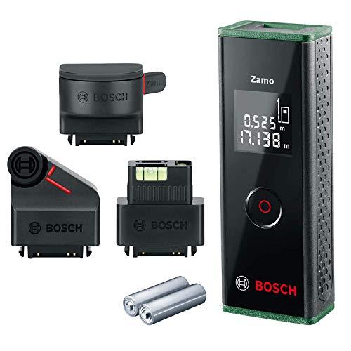Bosch Laser Entfernungsmesser Zamo Set mit drei Adaptern (3....