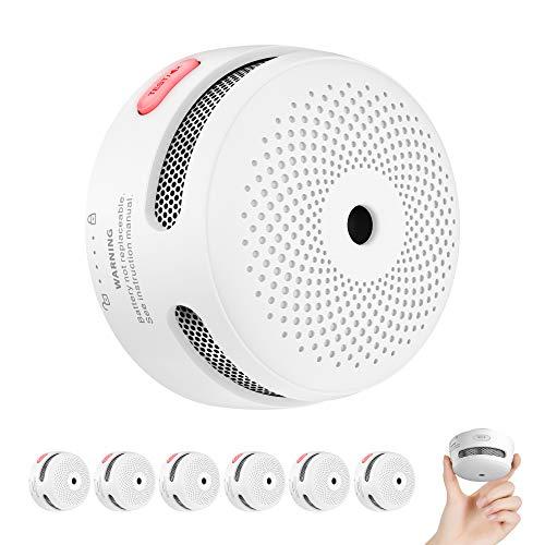 X-Sense Rauchmelder Mini Feuermelder mit 10 Jahren Batterielaufzeit,...