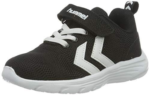 hummel Unisex Kinder Pace Jr Sneaker, Schwarz, 31 EU