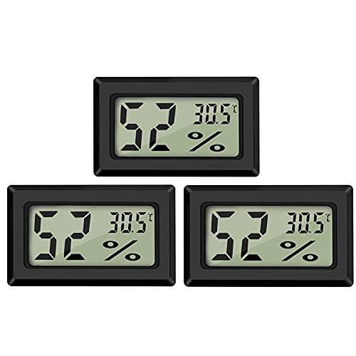 Thlevel 3X Mini LCD Digital Thermometer Temperatur Luftfeuchtigkeit...