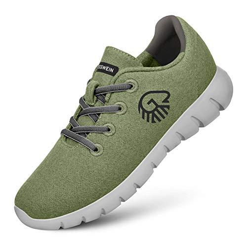 GIESSWEIN Merino Runners Men - Atmungsaktive Sneaker aus Merino Wool...