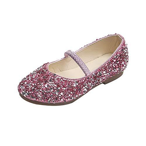 Freebily Mädchen Ballerinas Prinzessin Pailletten Schuhe Mary Jane...