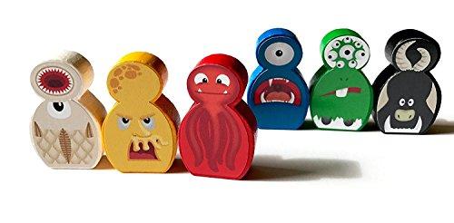 Spieltz 52054: 'Lustige Monster, besondere Spielfiguren für...