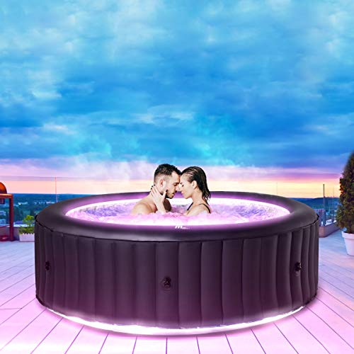 Miweba MSpa aufblasbarer Whirlpool Aurora U-AU06 Outdoor für 6...