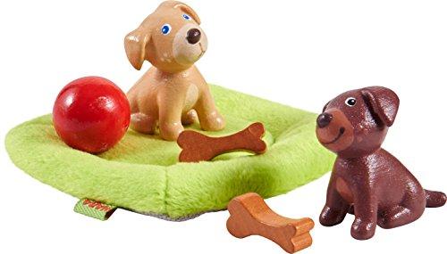 HABA 303892 - Little Friends – Hundebabys | Süße Haustiere für...