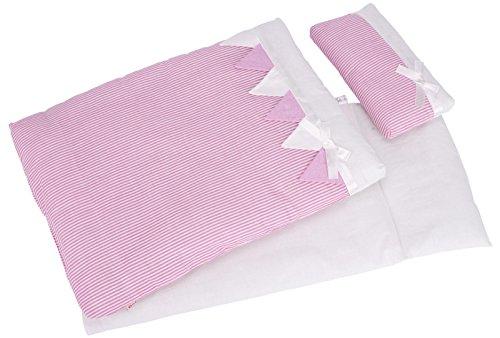 Goki 51589 Bettwäsche für Puppen