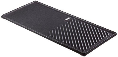 Enders® Grill-Wende-Platte, aus Gusseisen, 1/3 Grillfläche,...